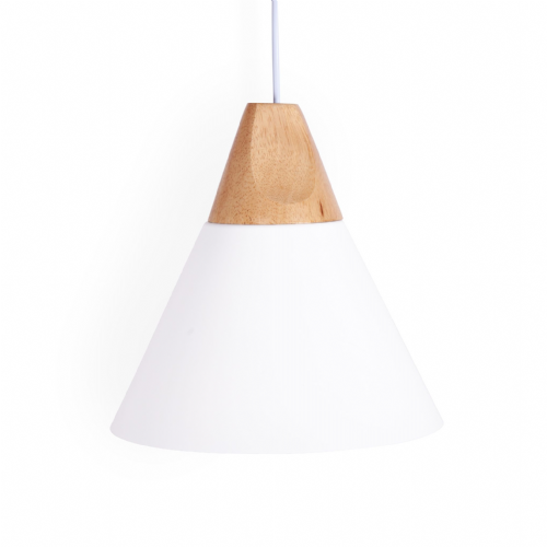 Sloped Pendant Ceiling Lights, Type A White